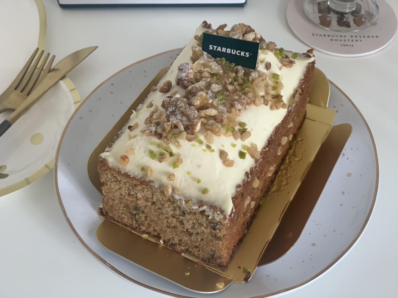"""【スタバ】数量限定!オンラインショップ初のケーキは""""コーヒーの豆かす""""を活用したキャロットケーキ_3"""