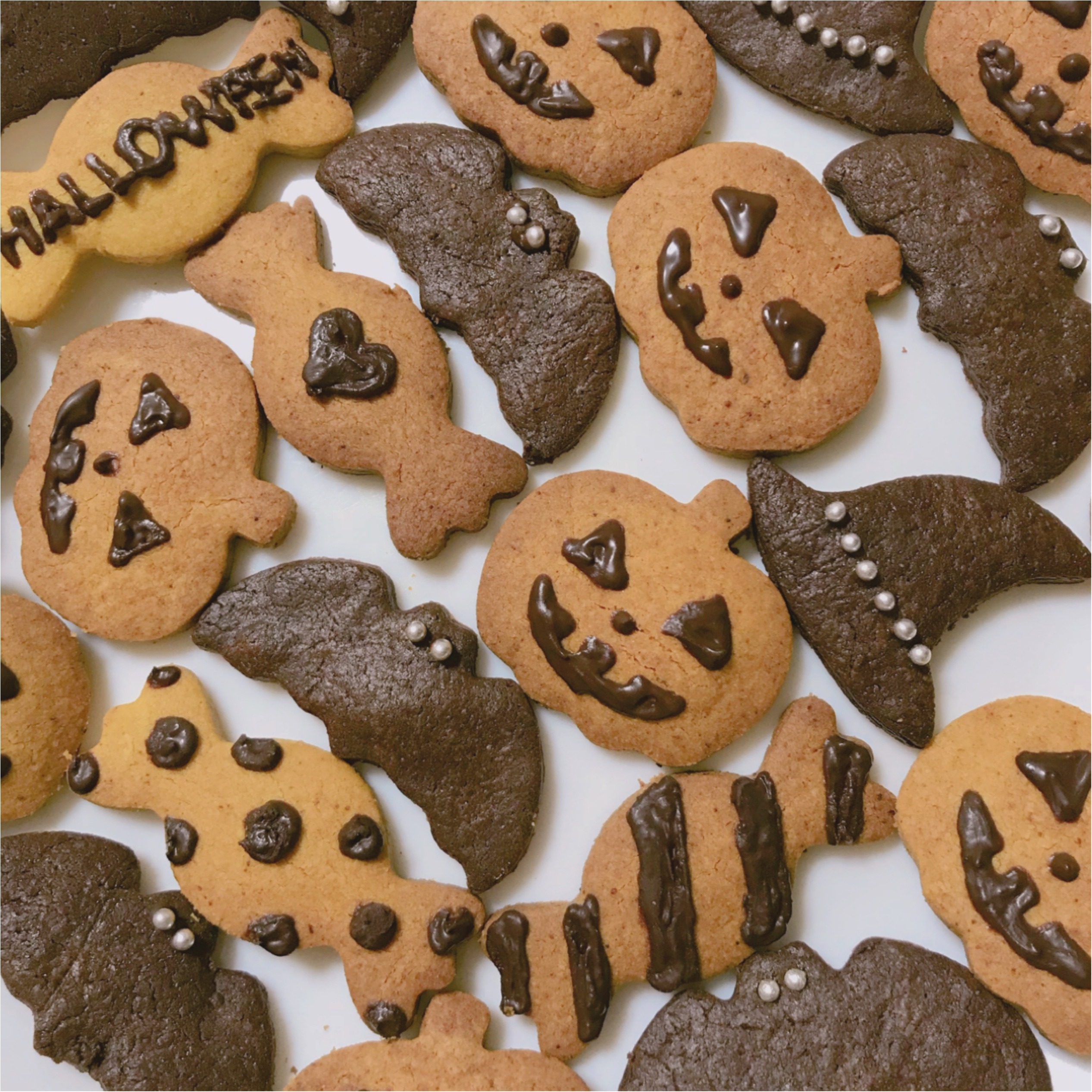 ハロウィンにおすすめ❤︎作るの簡単!【低糖質クッキー】材料も100均で揃っちゃいます♡_4