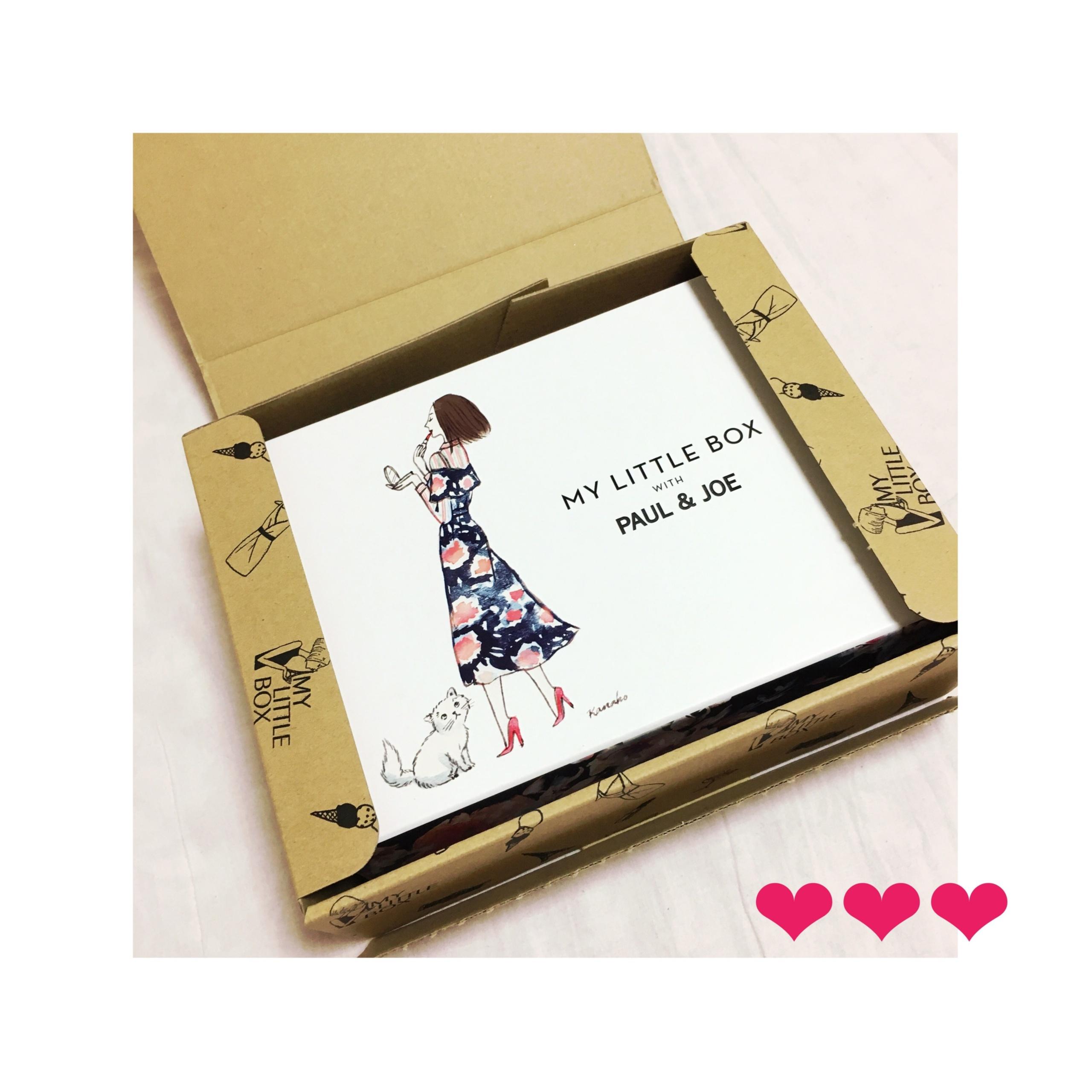 《既日完売の予感⁈❤️》【My Little Box】8月はPAUL&JOEとのコラボ♡ひと足お先にgetしました‼︎_5
