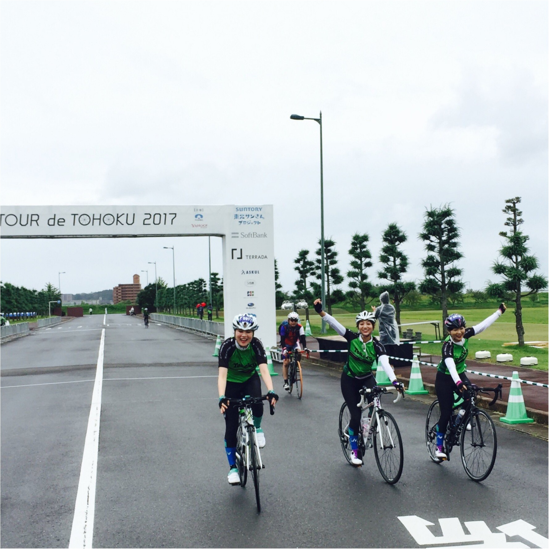 ご報告!!ツール・ド・東北、目標の65キロ完走しました!【#モアチャレ ほなみ】_1