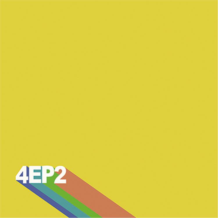 どんぐりずのEP『4EP2』ジャケ写