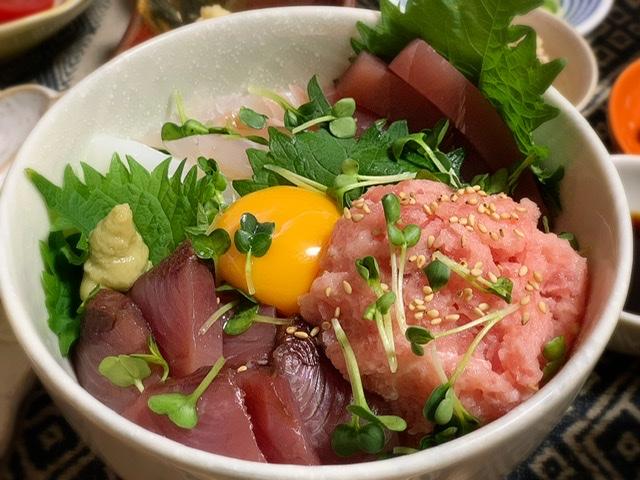 みおずきっちん♡海鮮丼_2
