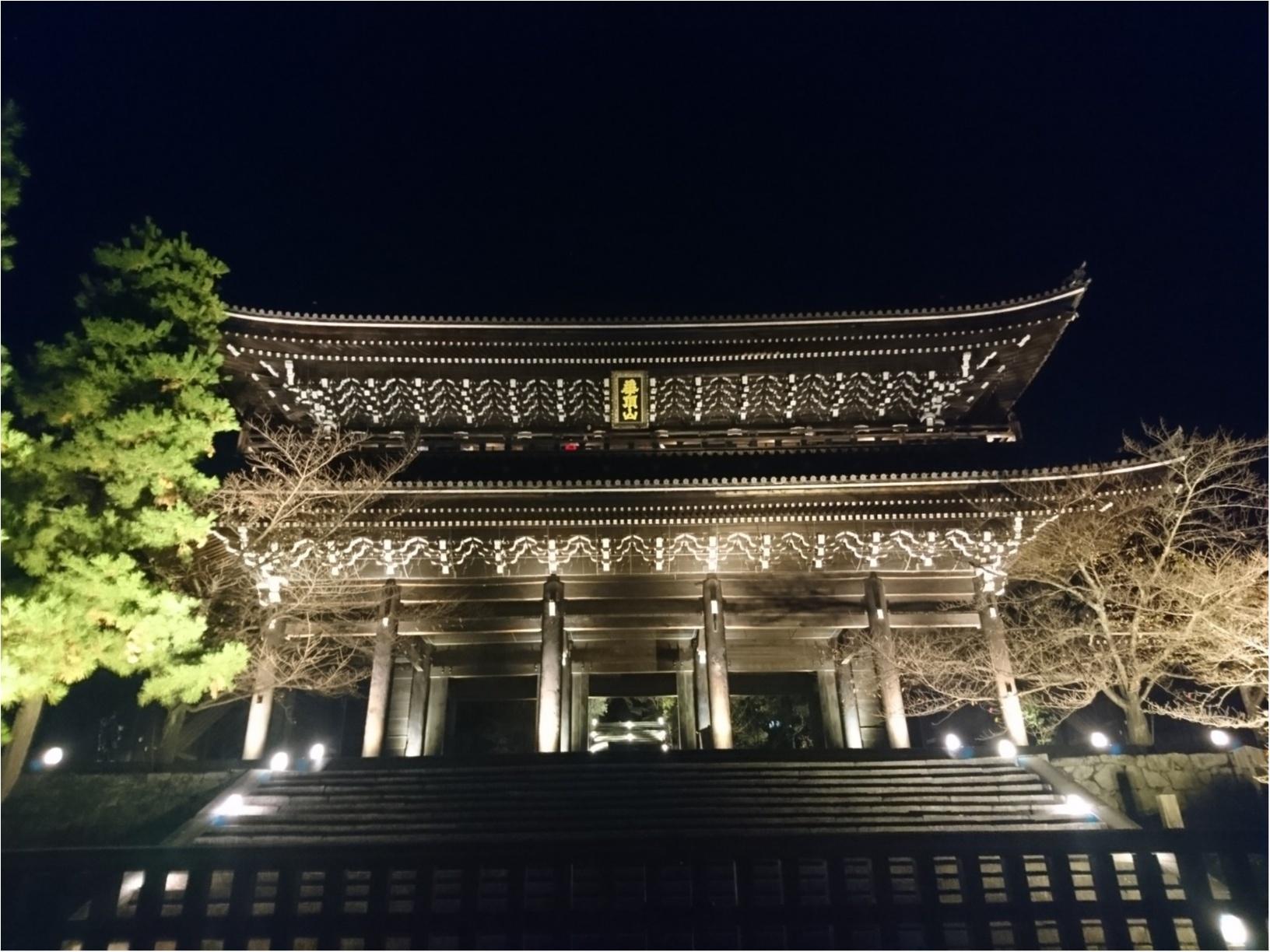 ≪京都・知恩院≫2年ぶり特別公開&ライトアップされた三門は圧巻☆_4