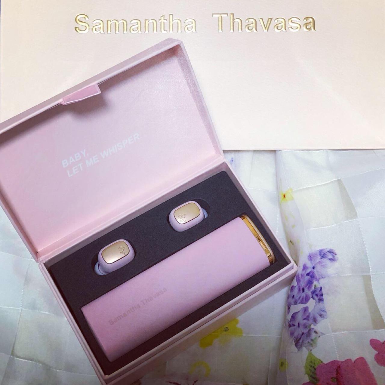 <サマンサタバサ>今年の自分へのご褒美に♡サマンサワイヤレスイヤホンが最高すぎる!_1