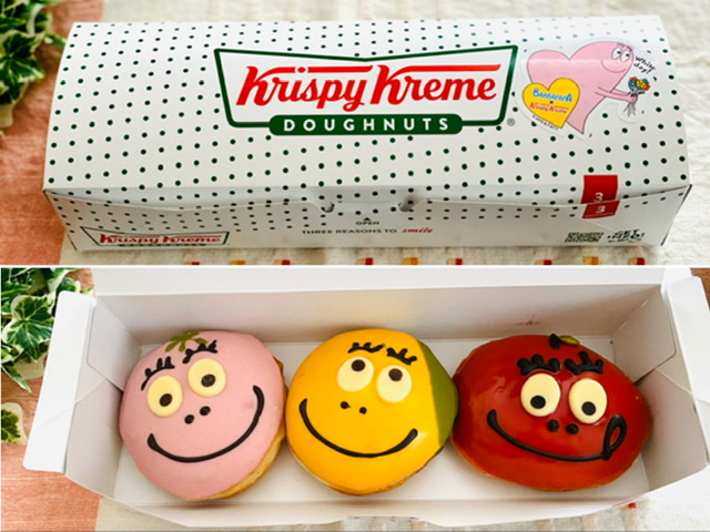 【バーバパパ×クリスピークリーム・ドーナツ】再びコラボ!あまりの可愛さに全3種買い♡_10