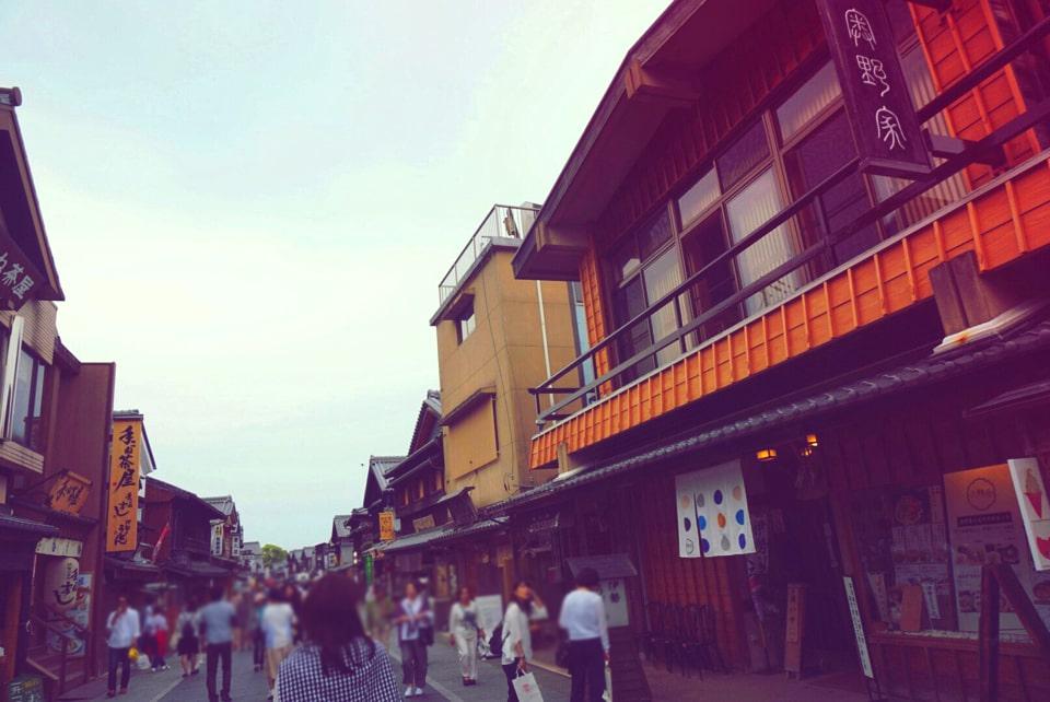 【夏季限定★赤福氷知ってる?】伊勢神宮のおかげ横丁で食べ歩き♡_3
