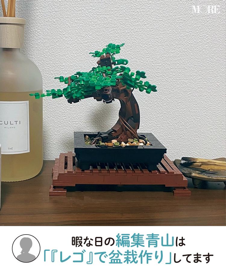 編集青山のレゴ盆栽