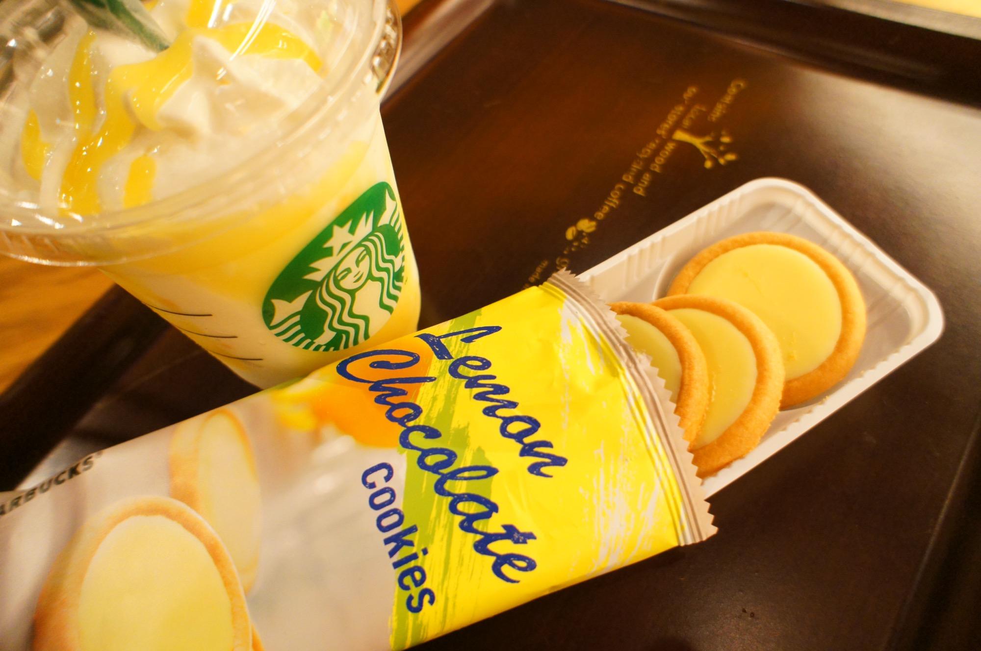 《レジ横foodに注目❤️》【スタバ】レモンチョコレートクッキーが美味しい☻!_2