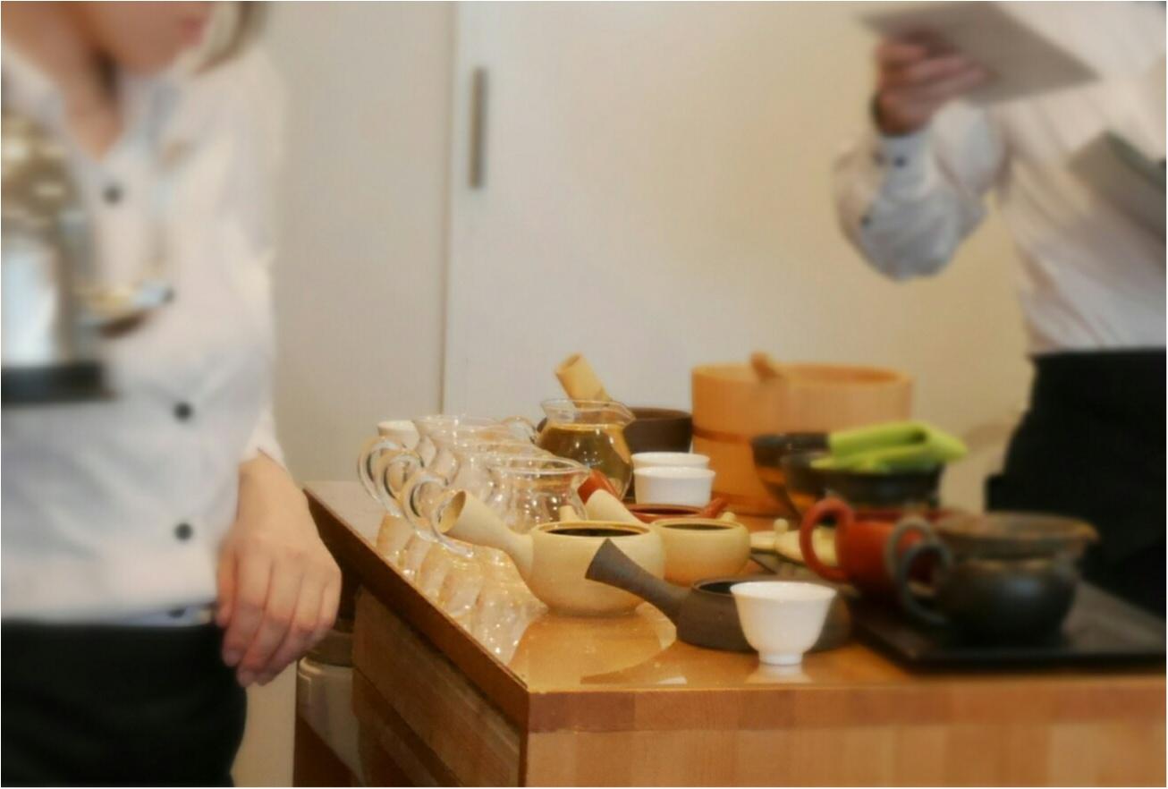 表参道にある「茶茶の間」は幅広い年代から愛される日本茶のカフェだった。_3