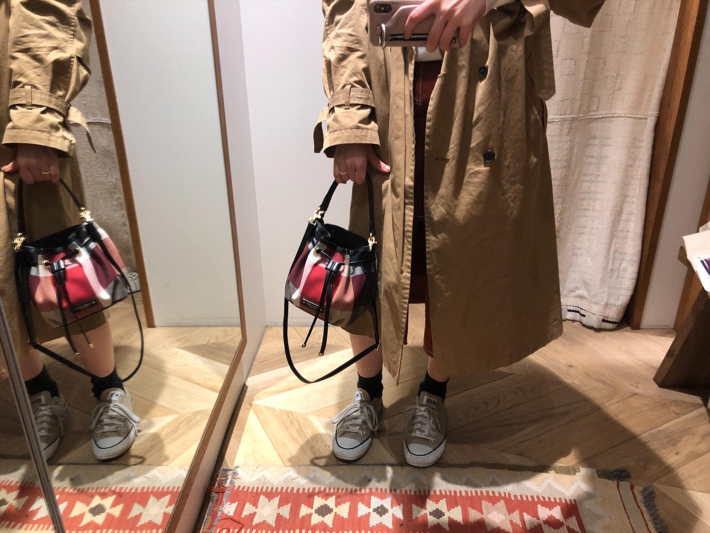 こんなバッグが欲しかった♡コロンと小さいのに十分荷物が入る《ブルーレーベル・クリストブリッジ×MORE》!!_3