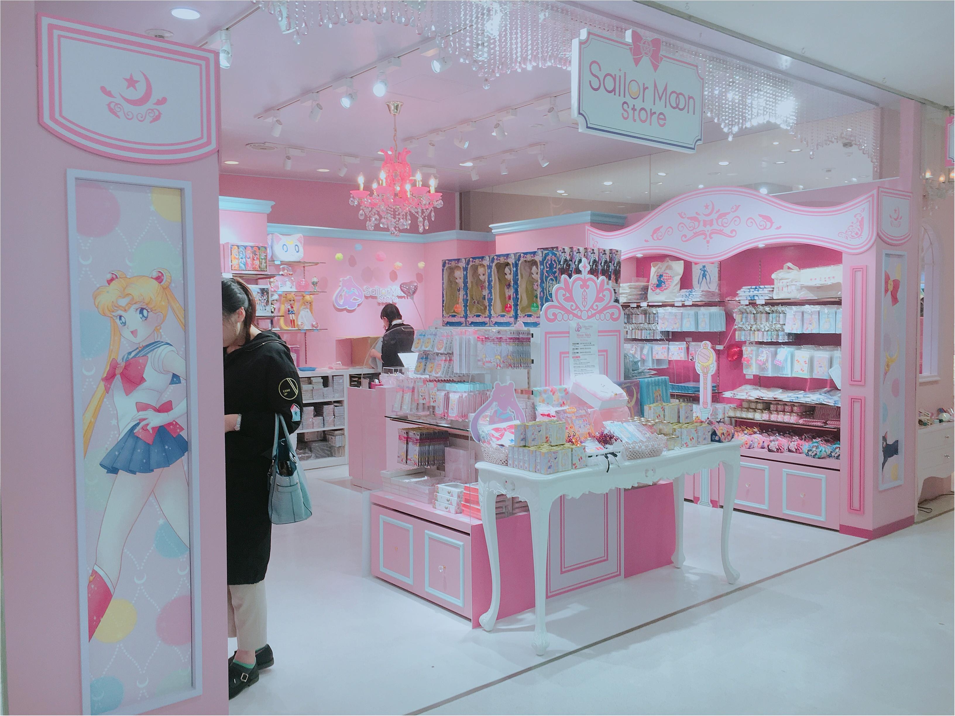 【セーラームーン25周年】世界初のオフィシャルストア誕生!『Sailor Moon store』に行ってみた!_2