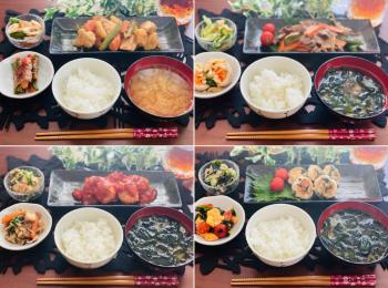 【今月のお家ごはん】アラサー女子の食卓!作り置きおかずでラク晩ご飯♡-Vol.30-