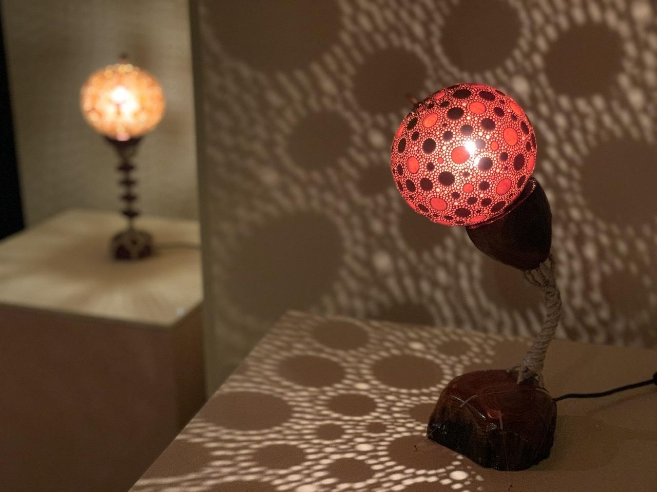 瓢箪ランプ