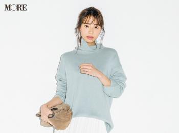 【今日のコーデ】<土屋巴瑞季>エコレザーの魅力にプリーツスカートで開眼!