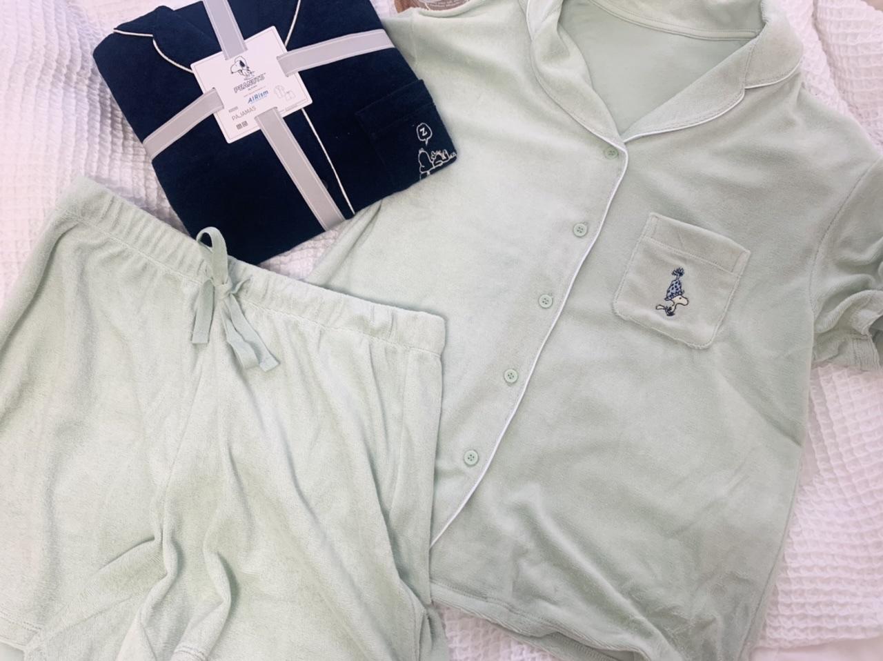 【UNIQLO】PEANUTSエアリズムパイルパジャマで夏のおうち時間をかわいく快適に♡_2