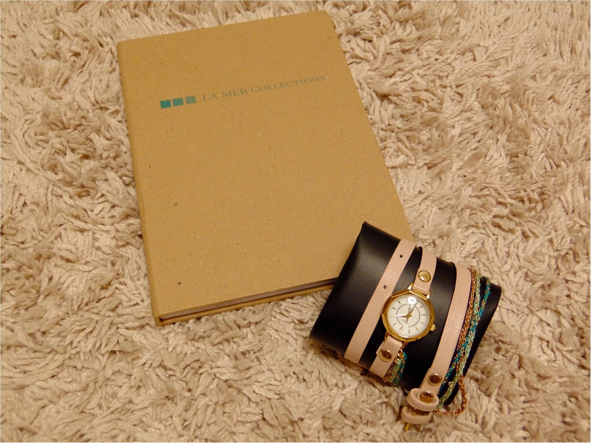 カジュアル好きにはたまらない♡【ラ・メール コレクションズ】の腕時計を買っちゃいました!_4