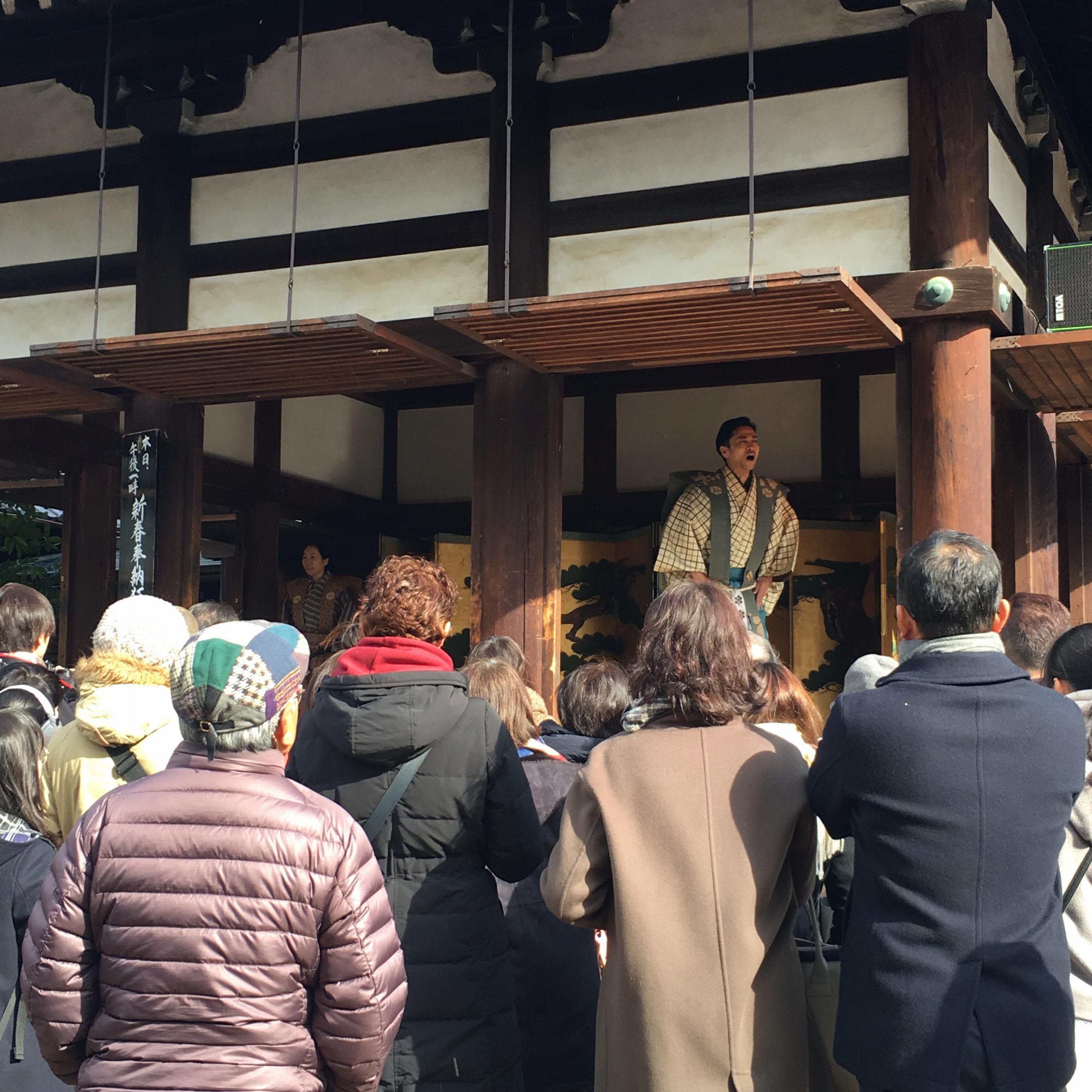 【初詣】で京都の北野天満宮と金閣寺に行ってきました!!_3
