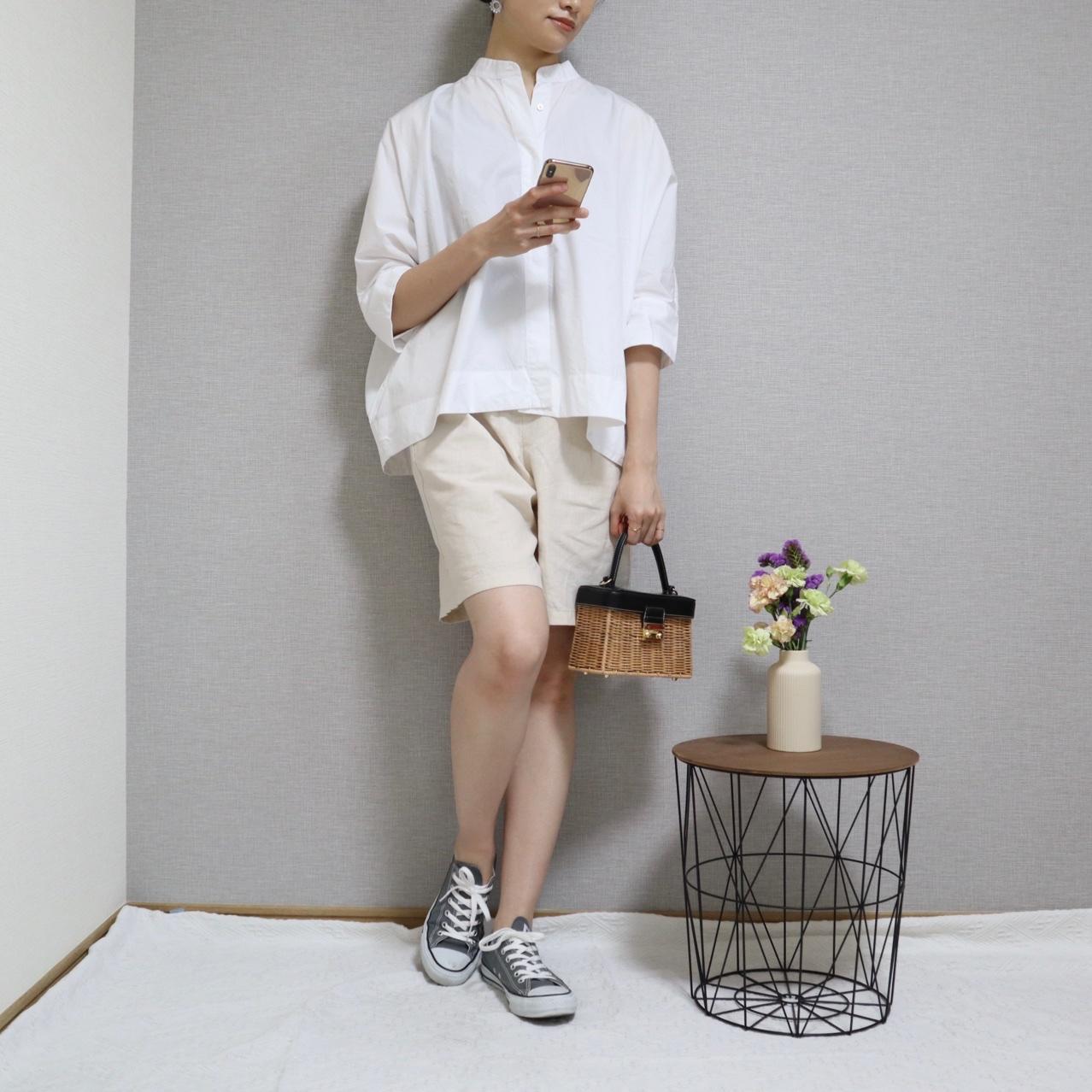 《5/14待望の再販スタート❤️》即完売した【UNIQLO+J】の大人気シャツ!☻_1