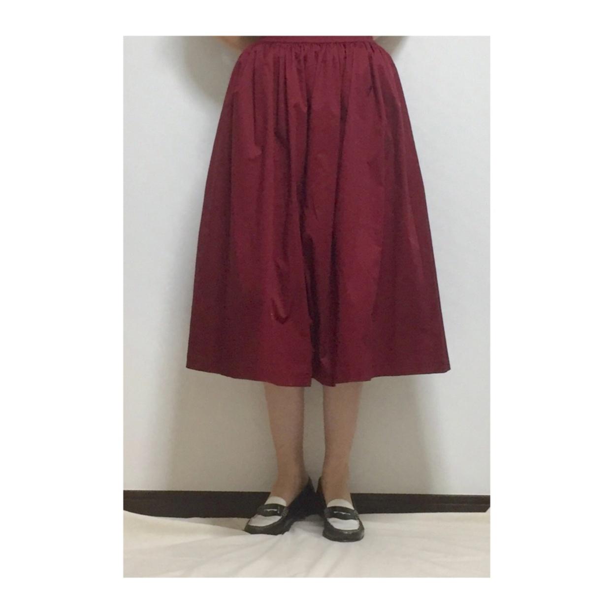 【この夏→秋もUNIQLOが熱い】シンプルなのに可愛い☆ボリュームスカート_2