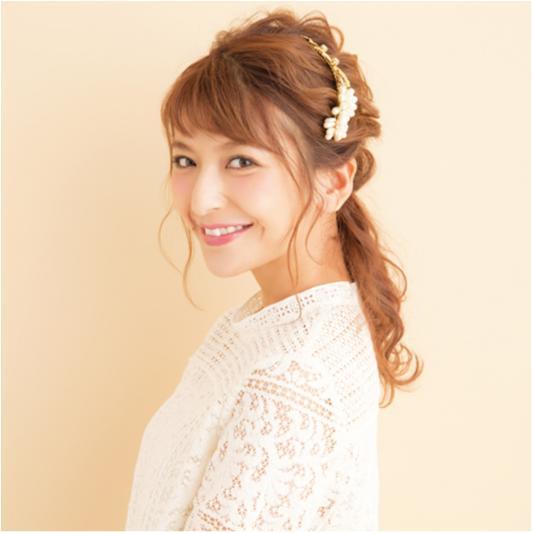 【RUMIさん直伝!週末モテ♡ヘアアレンジ】愛されネオハーフアップ_1
