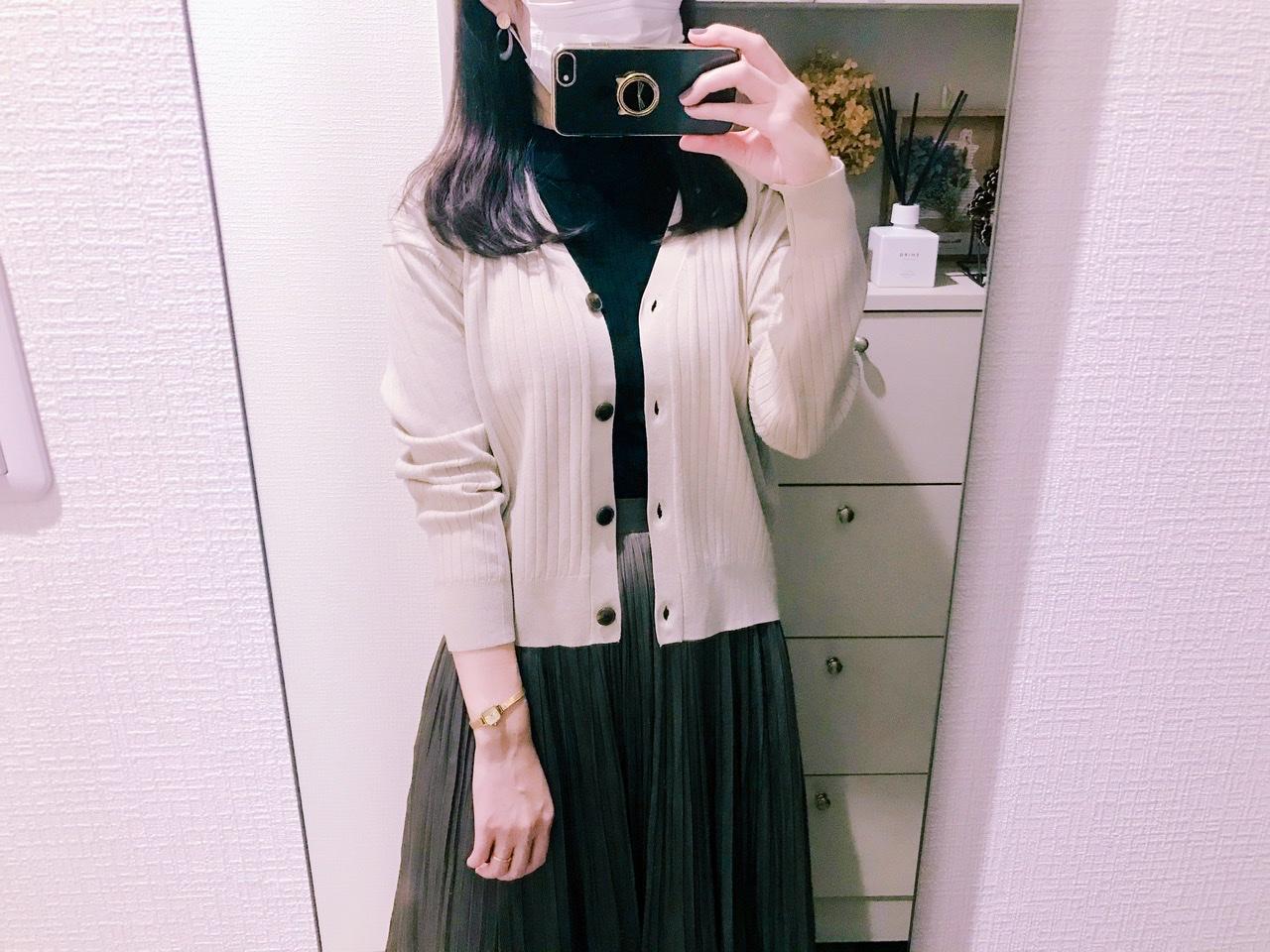 【GU】今すぐ使える《パンプス×カーデ》実用性◎な秋アイテム♡_4