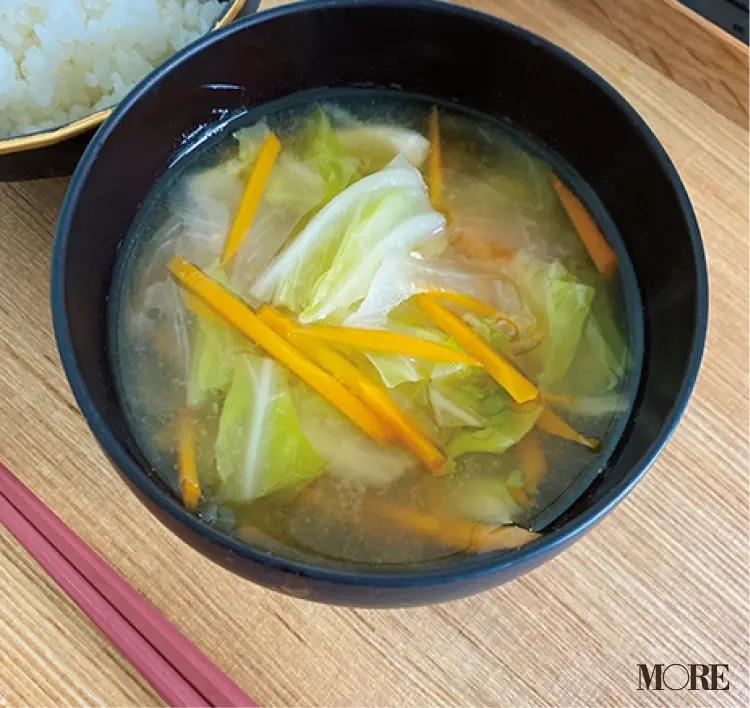野口由佳さんが作るお味噌汁