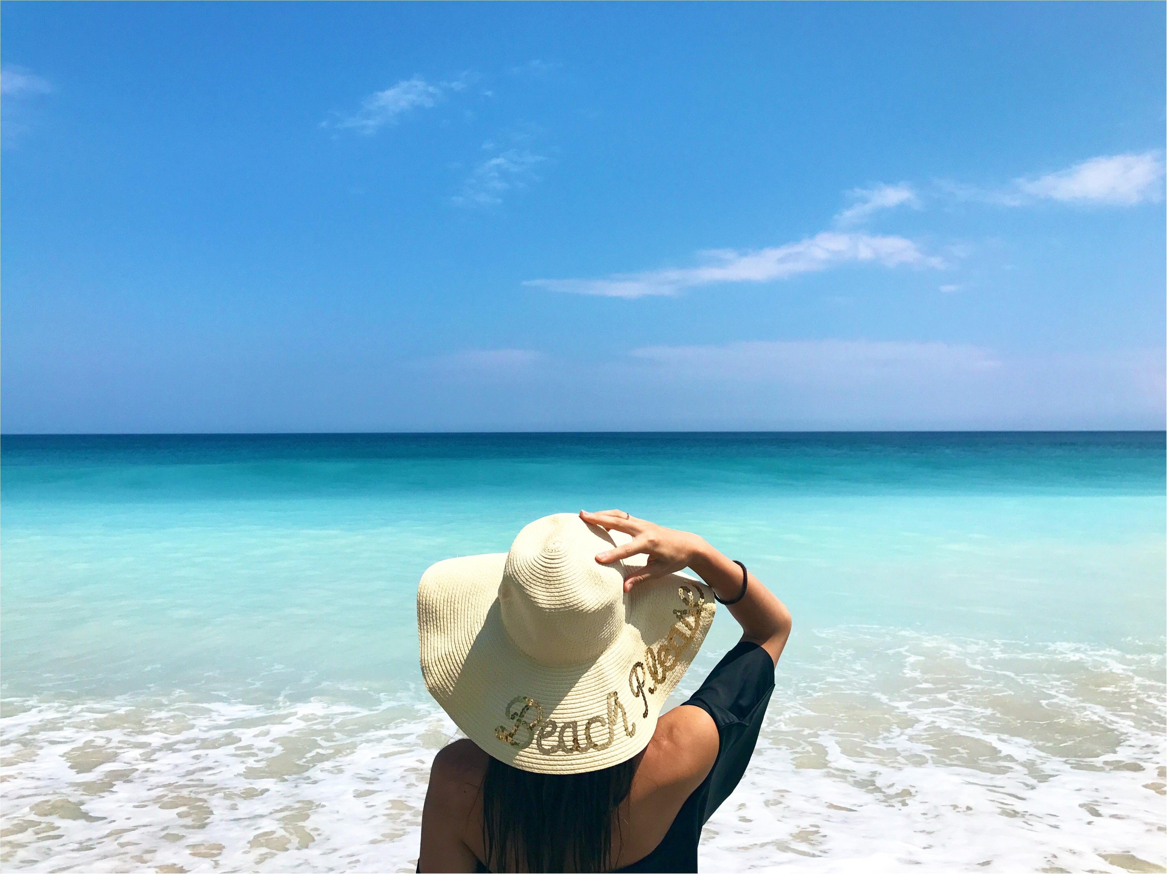 【Shopping】プチプラでGET♥Beachで映えるカンカン帽をおろしました!_1