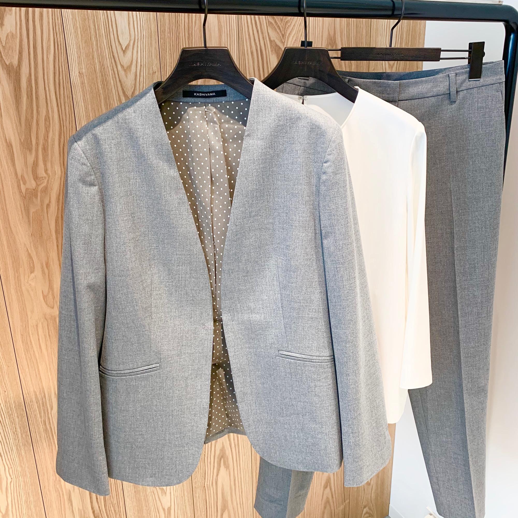 CMで話題沸騰中❤️《そのスーツ、どこの?》【KASHIYAMA the Smart Tailor】でオーダーメイドスーツ&シューズを作りました☻_1