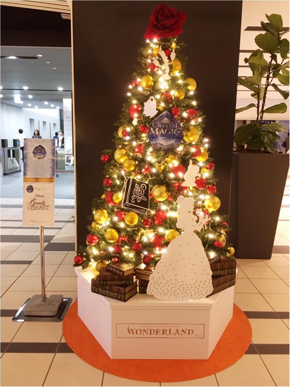 『渋谷ヒカリエ』のクリスマスはディズニープリンセスたちとコラボ♡『ラプンツェル・ツリー』点灯式に行ってきました(﹡´◡`﹡ )♡_10