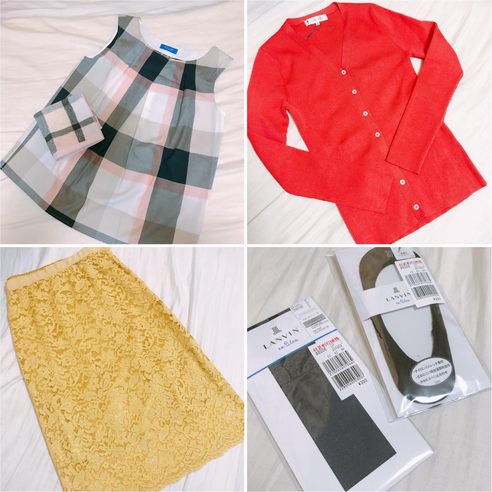 《約¥20,000で3着+小物をget♡》三陽商会&オンワードのファミリーセール戦利品!_5