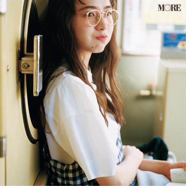 スタイリスト石上さんおすすめの白い半袖シャツ