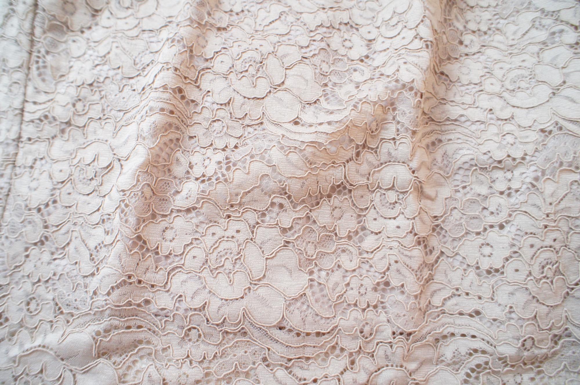 《#170cmトールガール》のプチプラコーデ❤️【GU】ベージュのレースタイトスカートが高見えで使える☻_2