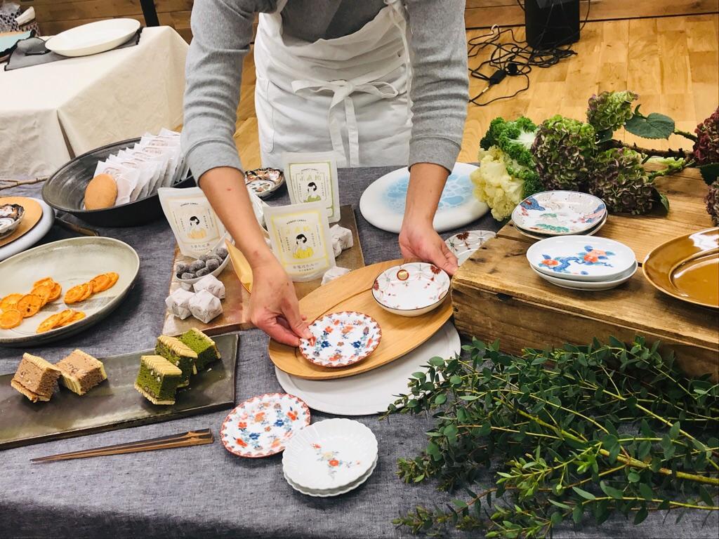 【朝時間.jp】料理が映える!《佐賀の和食器で楽しむテーブルスタイリング講座》へ♡_5