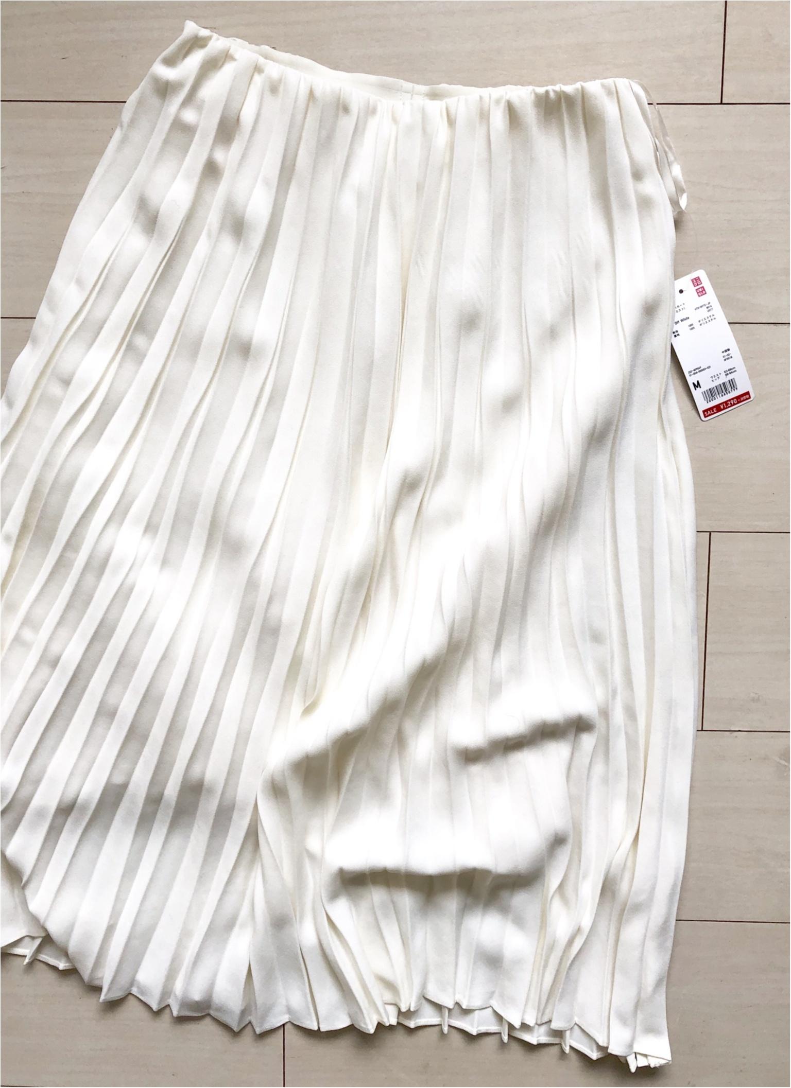 【UNIQLO】衝撃価格。今から使える《春色ボトム》4着で¥3000以下でした!!_5