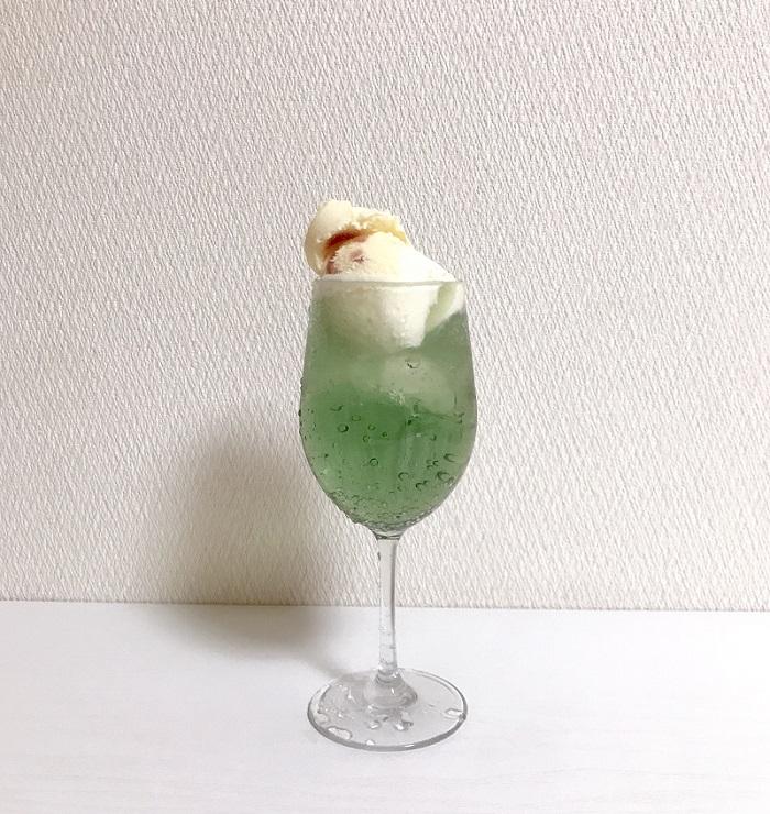 『無印良品』のメロンソーダが、淡いグリーンで可愛い♡ バズり新作ドリンクをチェックしてみた!!_4
