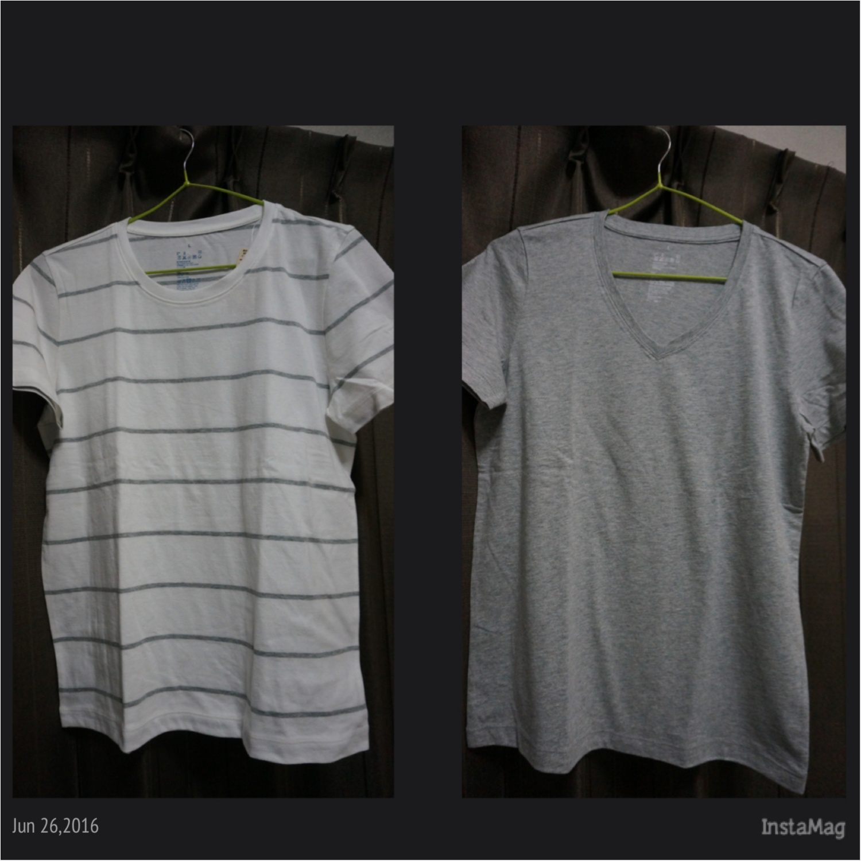 安くても質のいいモノを!【無印良品】の使えるTシャツ!_3