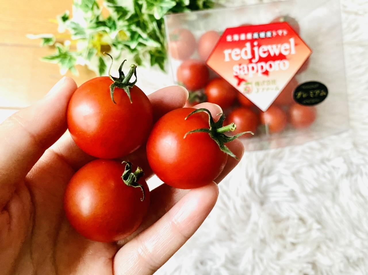 まるでスイーツ!北海道産高糖度トマト《レッドジュエル・プレミアム》が美味しすぎ♡_2