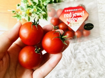 まるでスイーツ!北海道産高糖度トマト《レッドジュエル・プレミアム》が美味しすぎ♡
