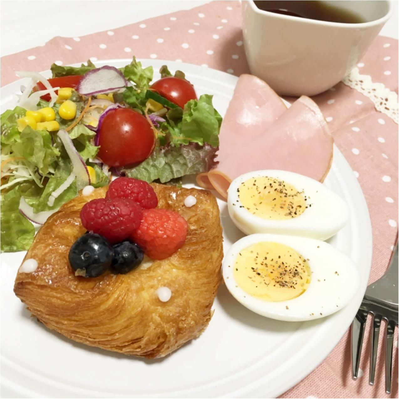 気分があがるモーニングは、美味しいパンから ♡_4