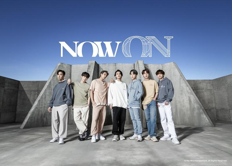 BTS×FILAのコラボ第二弾「Now ON」アイテムを着たメンバーたち