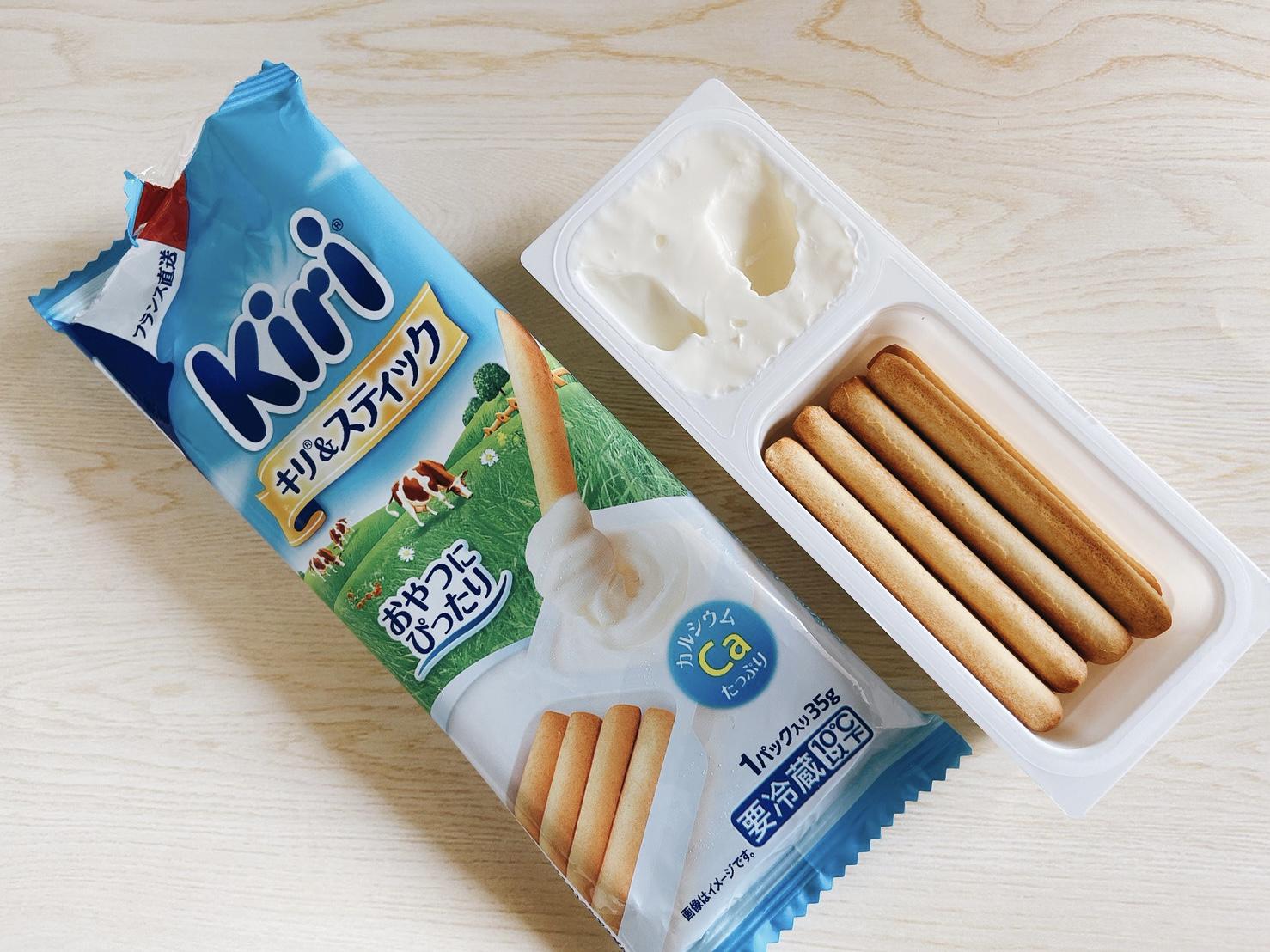 【セブンで買える】ダイエット中もOK!Kiriのクリームチーズがおやつにもおつまみにも♡_1