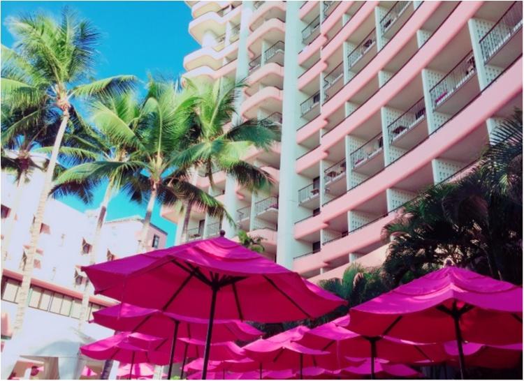 【TRIP】憧れのピンクパレス♡ロイヤルハワイアンのプールがフォトジェニックすぎる♡_4