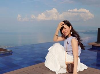 大好きな場所、琵琶湖テラス
