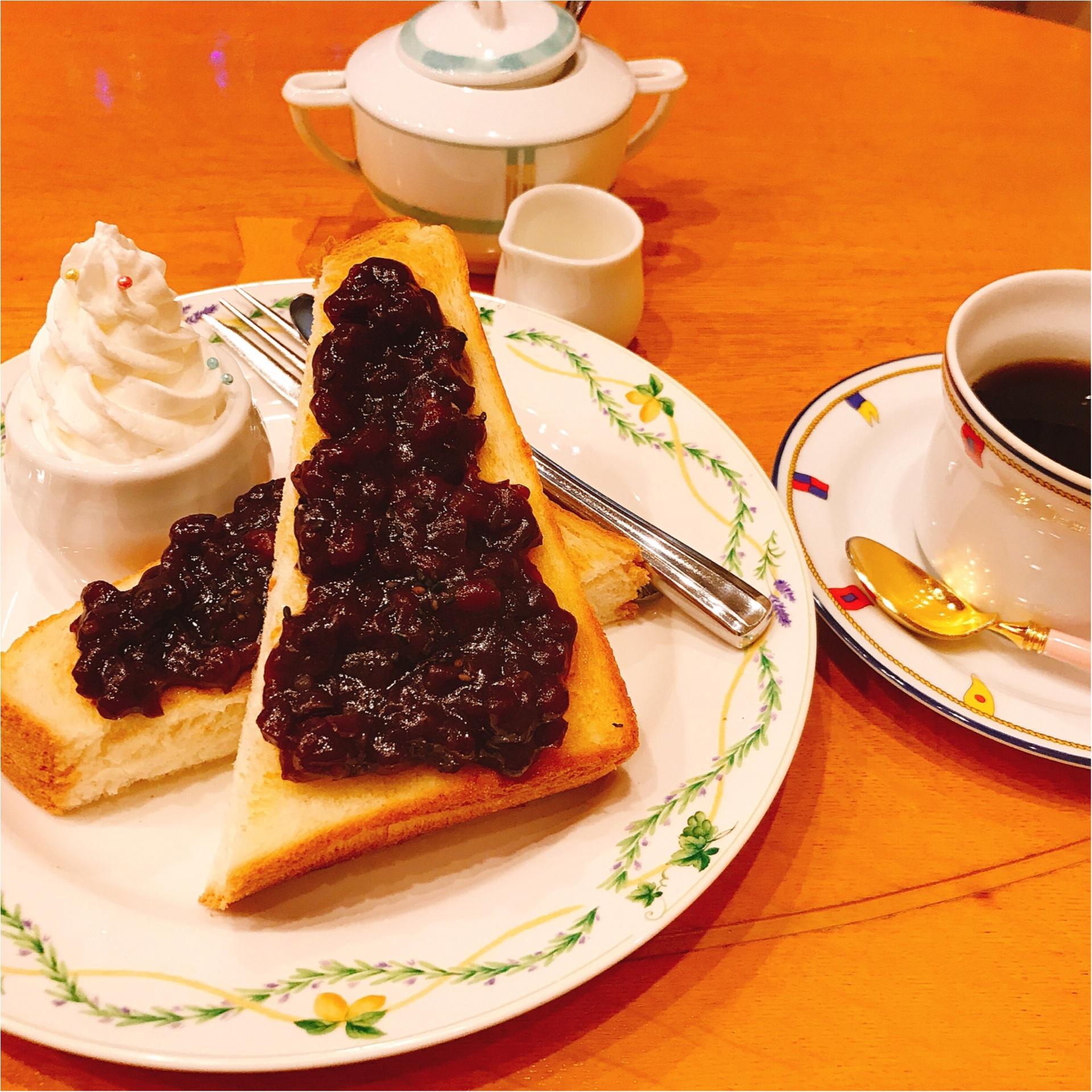 ★元祖名古屋グルメ『小倉トースト』ちょっとオシャレに楽しみたいなら、○○モチーフのココがオススメ★_4