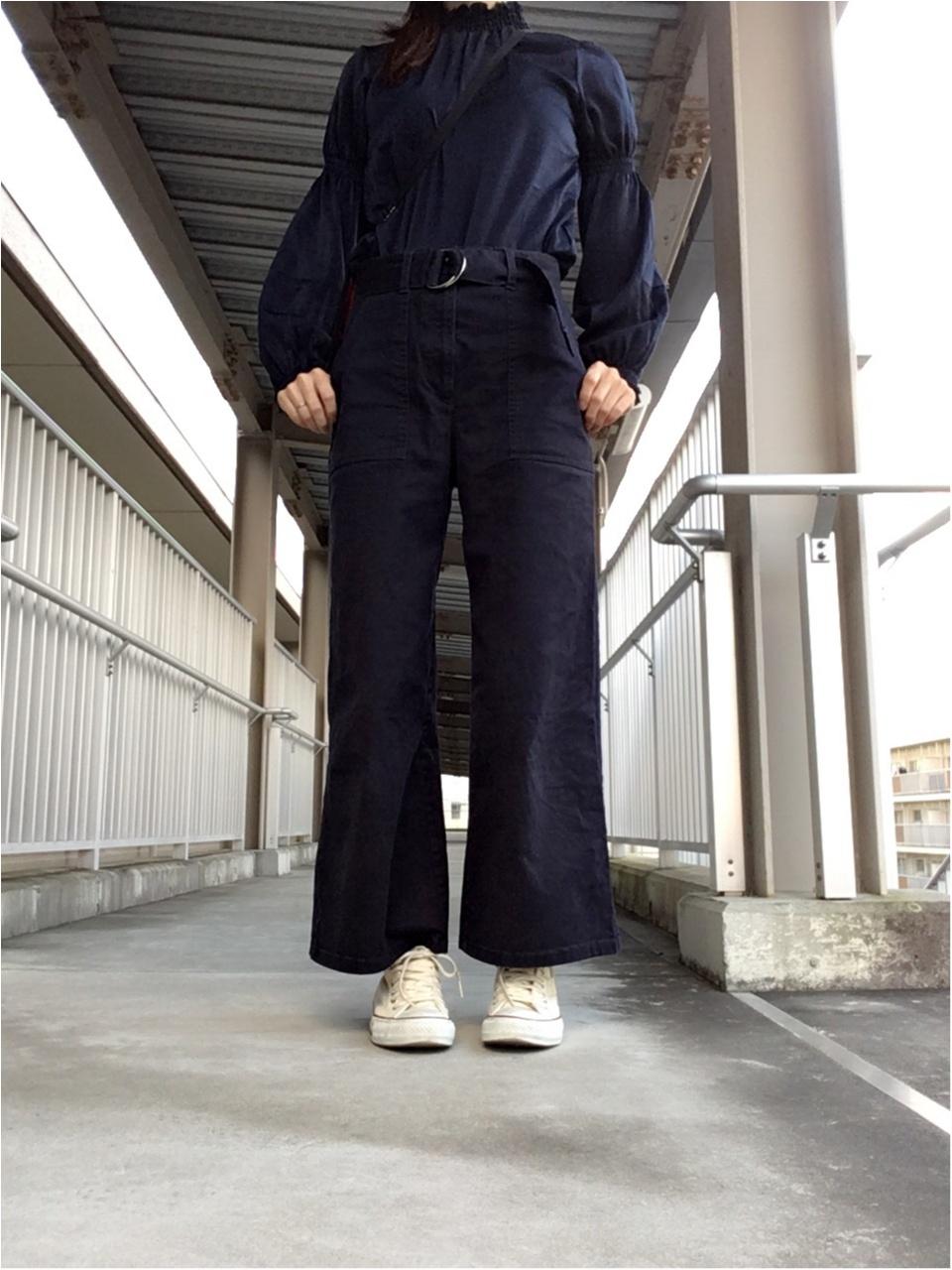 ちょこっとお出掛け【プチプラコーデ】産後履きたかったパンツをやっと♡_1