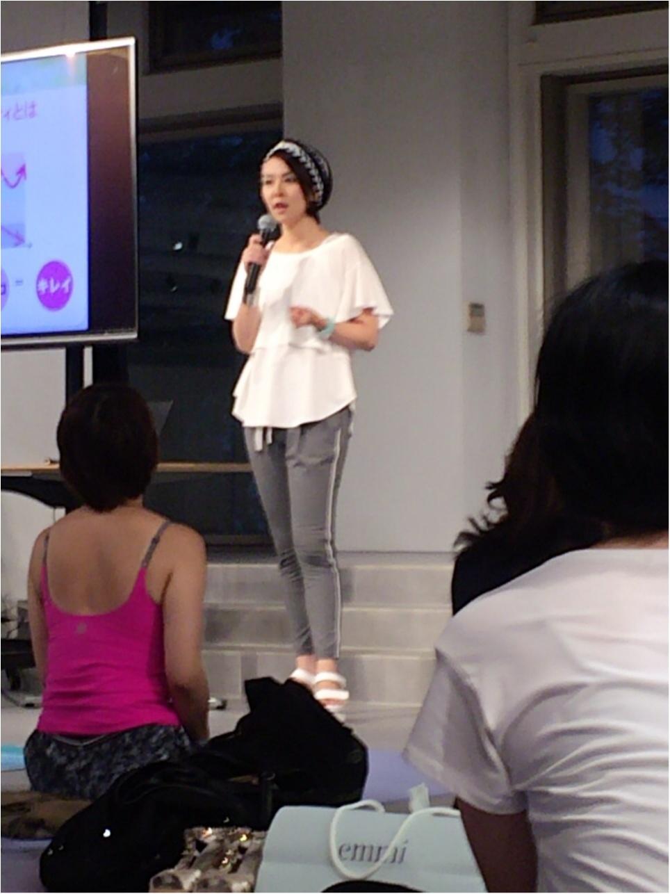 国際ヨガの日☆emmi yoga SPECIAL BEAUTY LESSONに参加してきました!_3
