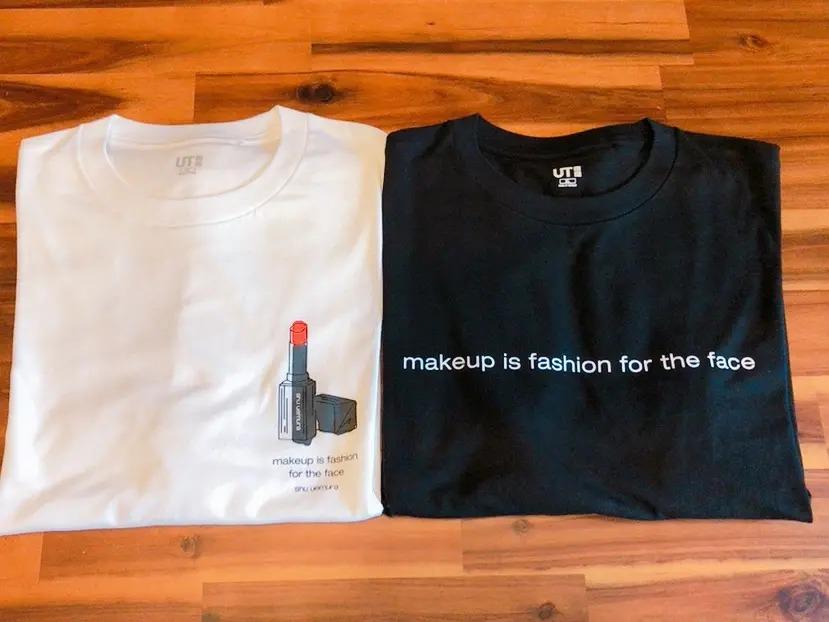 『ユニクロ』×『シュウ ウエムラ』のコラボTシャツがシンプルおしゃれ♪【今週のMOREインフルエンサーズファッション人気ランキング】_3