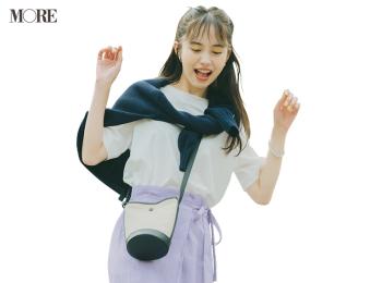 【今日のコーデ】<井桁弘恵>きれい色スカートを「ニューバランス」のスニーカーで可愛く