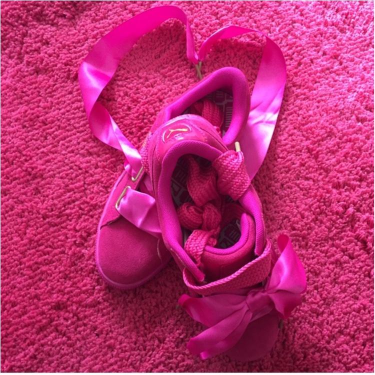 【Fashion】可愛いすぎ!PUMA話題の新作♥︎「 スウェード ハート 」を手に入れた♡_4