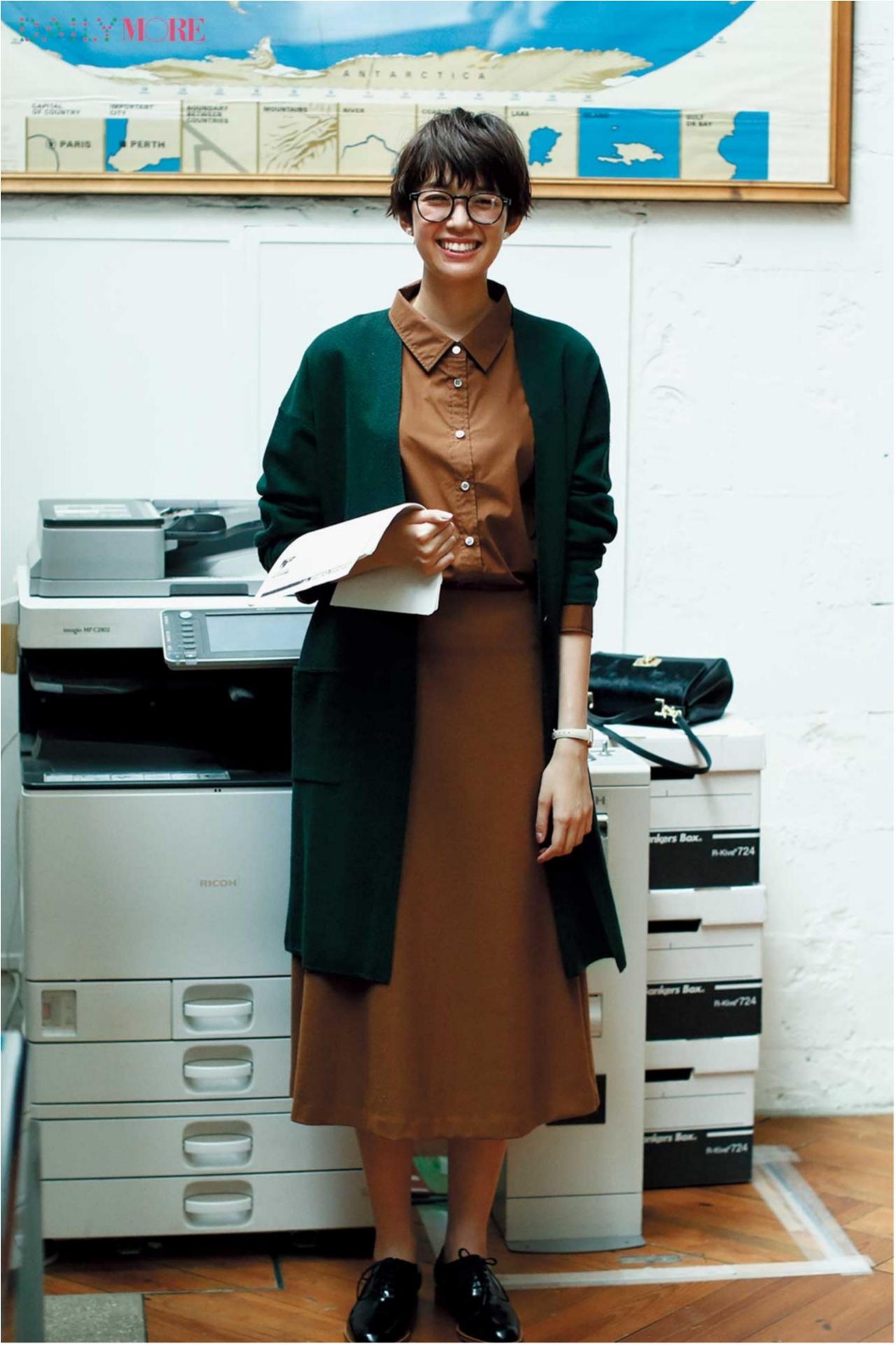 秋コーデを軽やか&華やかに♪ 「フレアスカート」の着こなしまとめ♡_1_12